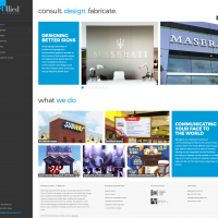 Allied Signage Responsive Website