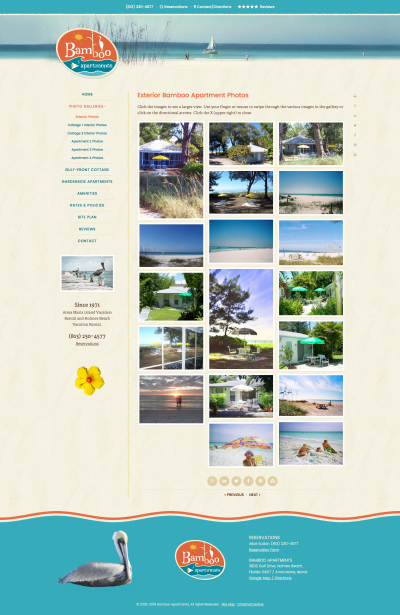Bamboo Apartments Custom Genesis Child Theme Gallery Page
