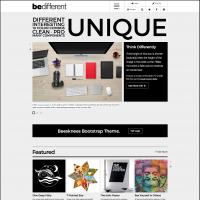 BeDifferent Website Template