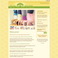 Live Oak Yoga Studio Responsive Website