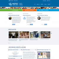 NEFEC Responsive Website Design