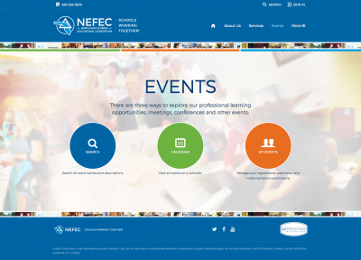 NEFEC Events Page