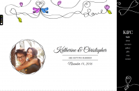 Swirly Wedding Template
