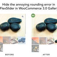 Hide annoying rounding error in FlexSlider in...
