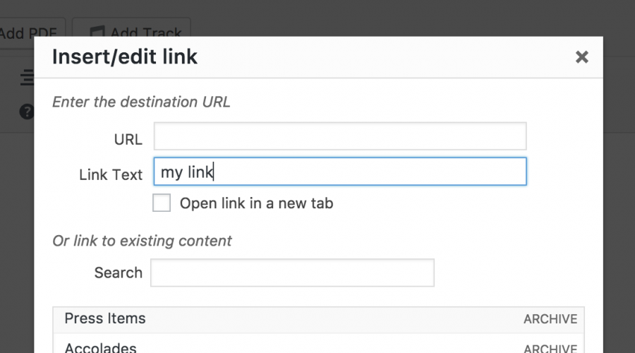 Add Custom Post Types and Taxonomy...