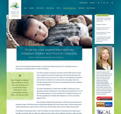 Debra Finch, Adoption Attorney