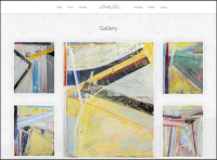Abstract Painter Gallery Portfolio WordPress Theme
