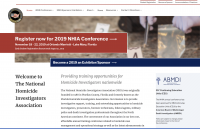 National Homicide Investigators Association WordPress theme
